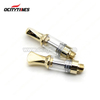 Patent Design Gold Silver Color Ceramic Cartridge 1.3mm Oil Hole